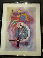 W.Kandinsky /1866-1944/nagyméretű képe /