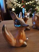 Iparművész rókák, mind más kicsit, nagyon kedves kis jószágok :)