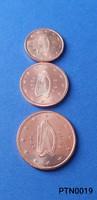 Írország 1/2/5 cent (BU) EF