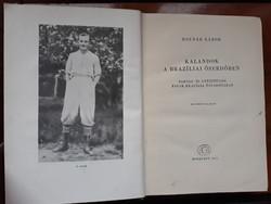 Földrajzi felfedezések a brazil őserdőben -1959-es retró kiadás