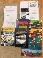 Mérlegképes könyvelő tanfolyamhoz szakkönyvek és jegyzetek