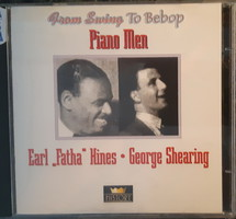 "EARL "" FATHA "" HINES - GEORGE SHEARING      JAZZ CD  2 DB"