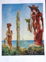 Max Ernst: Napoléon danz le désert