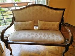Kétszemélyes hattyú empier kanapé szófa
