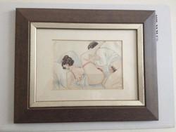 1920 erotikus művészkép