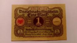 1920 NÉMET 1 márka! UNC.