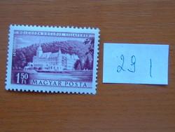 MAGYAR POSTA 1,50 FORINT 1953 Üdülők LILLAFÜRED 29 I