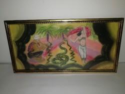 Scheiber Hugó - antik festmény, 1 forintról indítva, garanciával.