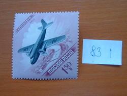 MAGYAR POSTA 1,50 FORINT 1954-es légiposta - repülés napja 83 I