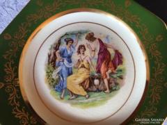 Ditmar Urbach tányér, ritkaság, 23 cm, 1920-as, gyönyörű