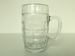 Retro üveg kocsmai sörös korsó