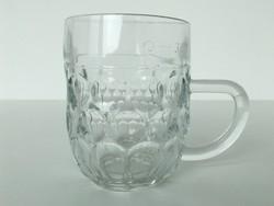 Retro üveg kocsmai sörös korsó 3dl