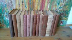 Ma már ANTIK KÖNYV-Verne  13 kötet CSAK EGYBEN  OLCSÓN!
