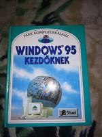 1997-es kiadású WINDOWS 95 útmutatási köny ,gyüjtöknek...