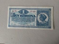1920-as 1 Korona XF