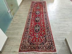 Iráni keshan minta 80x290 kézi gyapjú perzsa futó szőnyeg 45P_25