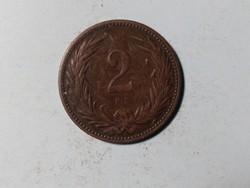 2 Fillér 1898