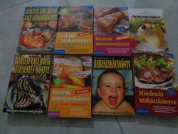 Szakácskönyvek lotban olcsón!