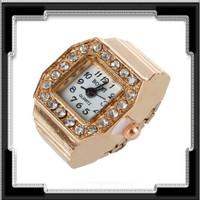 Gyűrű, működő órával ABGY-Ó03