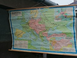 Európa térképe I. Világháború 170x110cm