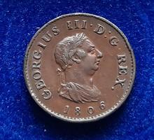 Egyesült Királyság Farthing 1806.