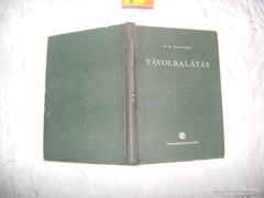 Távolbalátás - 1953 - könyv eladó