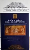 A Kalozok emlekere kiadott-Banknotes-The World's First Gold & Silver Banknotes..