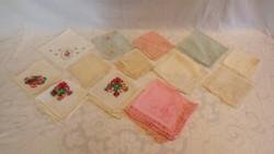 Régi zsebkendő kisebb gyűjtemény