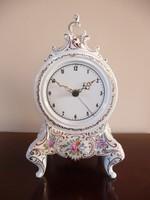 Hollóházi nagy méretű kandalló óra