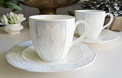 Villeroy&Boch csontporcelán teás csésze párban