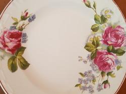 Fali festett fatányér