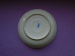 Antik Ó Herendi porcelán virágos csésze aljá, kistányér