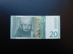 20 dinár 2000 Jugoszlávia