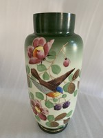 Egyedi üveg váza  35 cm