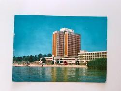 Retro képeslap Balatonfüred Marina Szálló levelezőlap