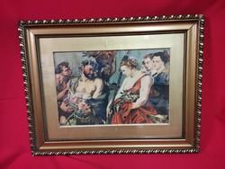 Bacchanalia antik akvarell 1938!!!!!