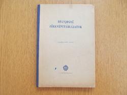 (1960) Négyjegyű függvénytáblázatok (Tankönyvkiadó)