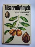 Búvár zsebkönyvek / Fűszernövények könyv !