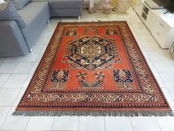 Félantik afgán 162x225  kézi csomózású gyapjú perzsa szőnyeg MM_604