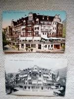 Régi képeslapok: Weggis