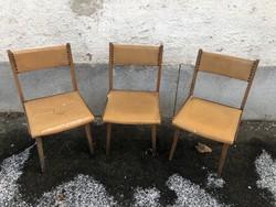 Retro,design székek.3db.