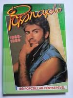 Popnapló 1988- 1989  könyv !