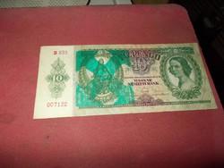 Nyílaskeresztes 10 pengő