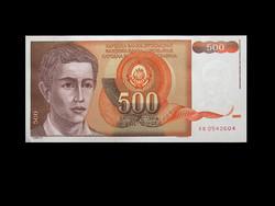 UNC - 500 DINÁR - JUGOSZLÁVIA - 1991