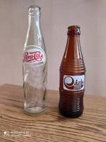 Pepsi colás 1972 es üveg és Oázis üdítős egyben Gyűjtőknek.