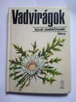 Búvár zsebkönyvek / Vadvirágok  könyv !