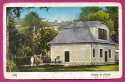 E - 0024 - - - 1940  Dés - Festőiskola   (VISSZATÉRT bélyegzéssel)