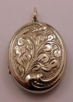 Antik ezüst kinyitható medál különleges 925-ös