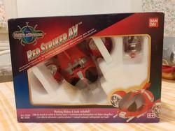 J - Red Striker AV Saban's Beetle Borgs 1996 BANDAI ÚJ- dobozában