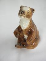 Royal dux porcelán maci medve